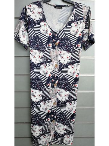 vestido botones v0753