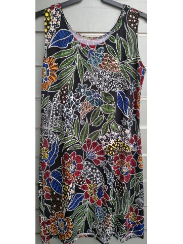vestido tirante flocado 2