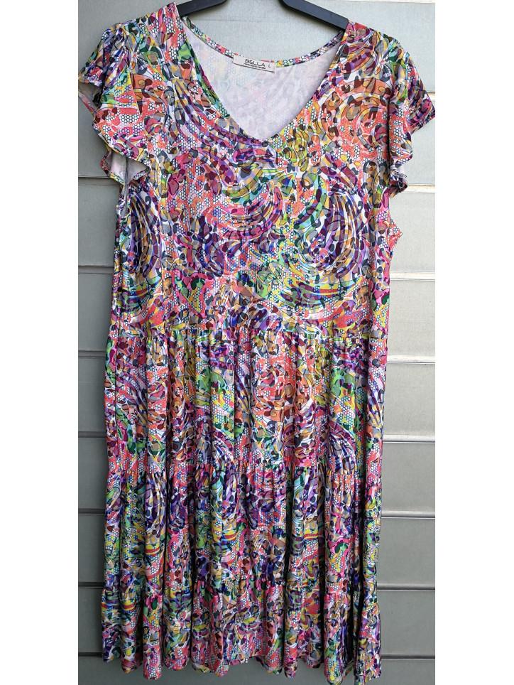 vestido ibicenco mod.731