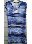 vestido doble manga v7003