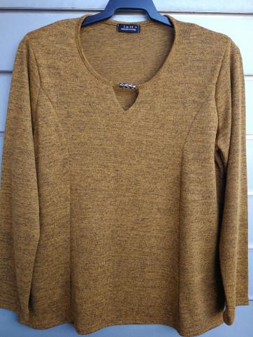 suéter costadillos punto liso