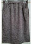 falda goma bolsillos punto