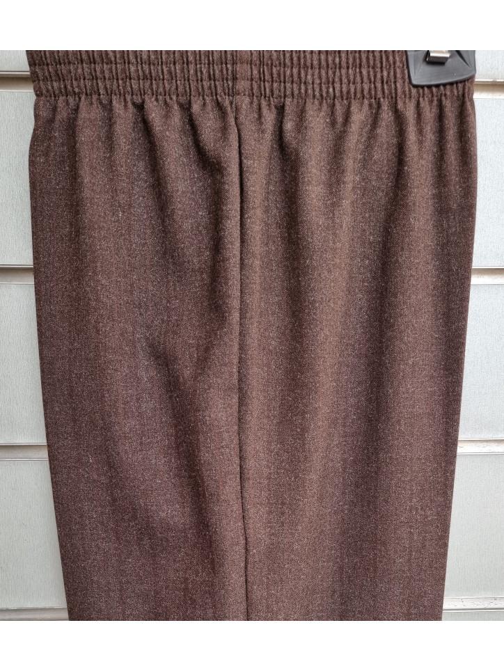 pantalon goma sin bolsillos viscosa
