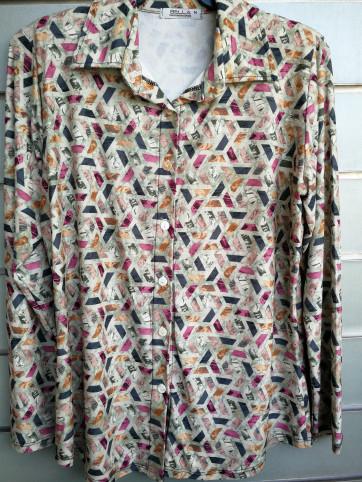 camisa botones mod.458-2