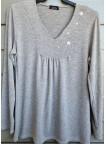 suéter liso punto IV0819