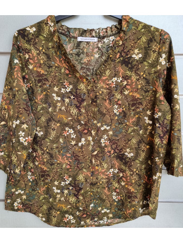 blusa estampada 3305