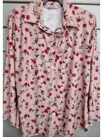camisa botones mod.458-3