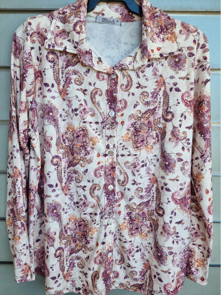 camisa botones mod.458-4