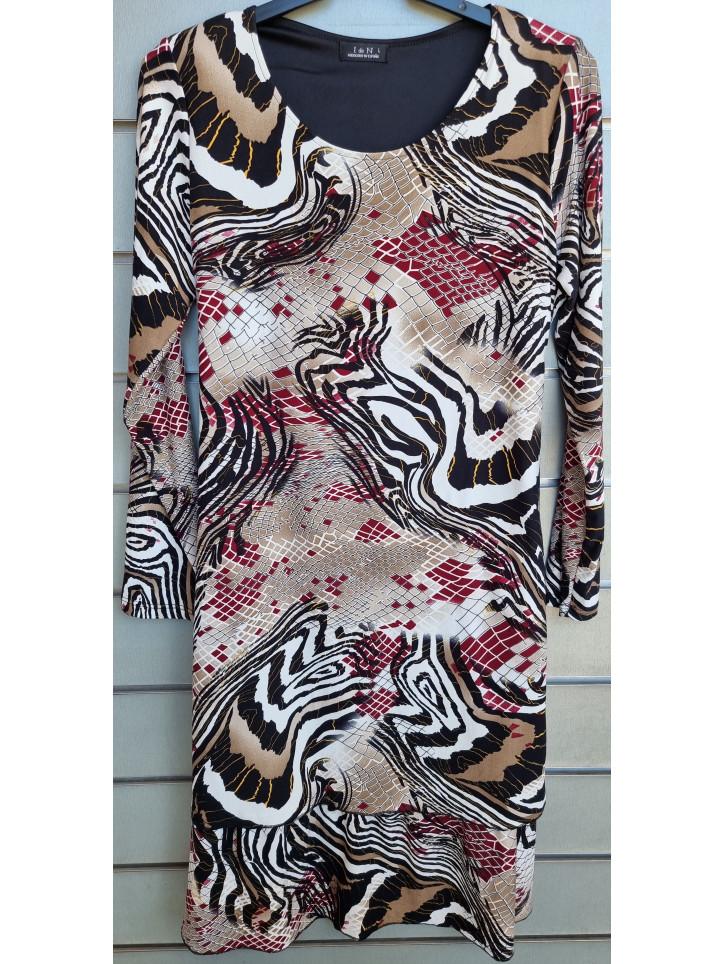 vestido doble capa IV0827-1