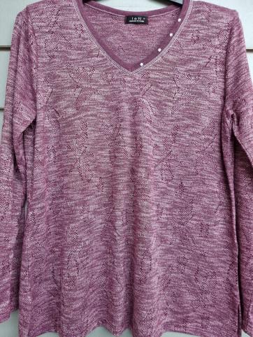 suéter pico calado IV-0839