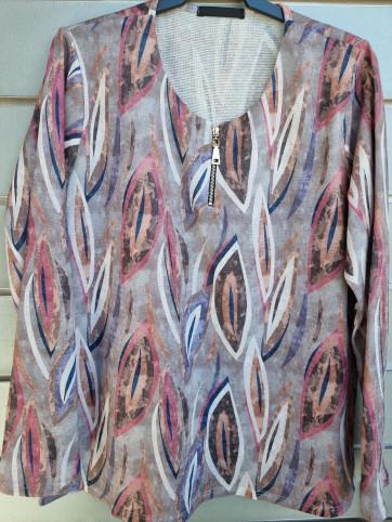 suéter cremallera lanilla 3320