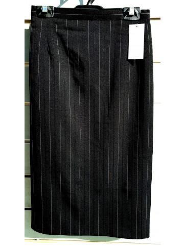 falda raya sin bolsillo
