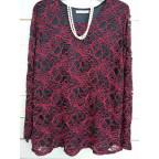 suéter blonda v051