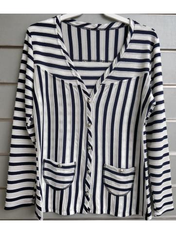 blusa marinera