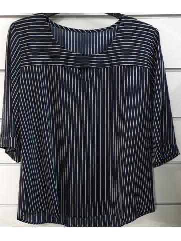blusa rayas 2765