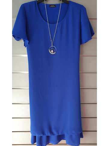 vestido liso v0353