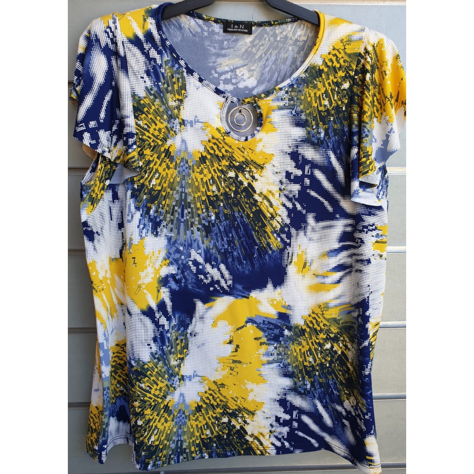 camiseta estampada v0387