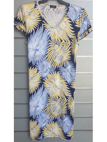 vestido doble manga v0166-2