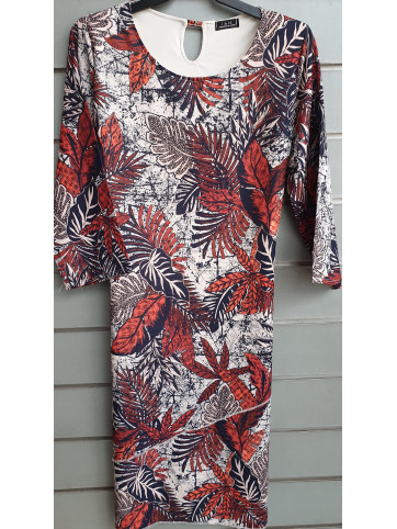 vestido gasa IV-0418