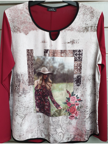 suéter sublimado IV-0407