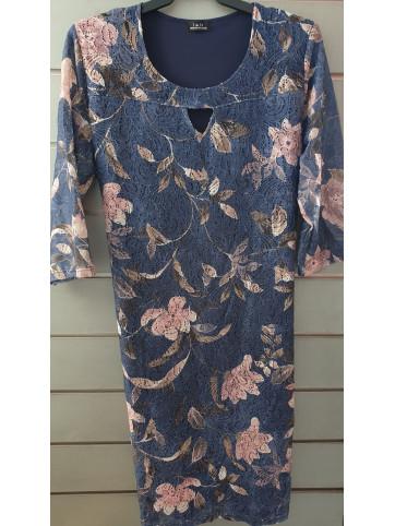 vestido blonda IV-0424