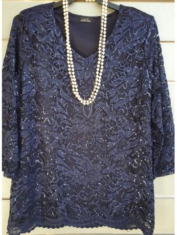 suéter blonda V-0520
