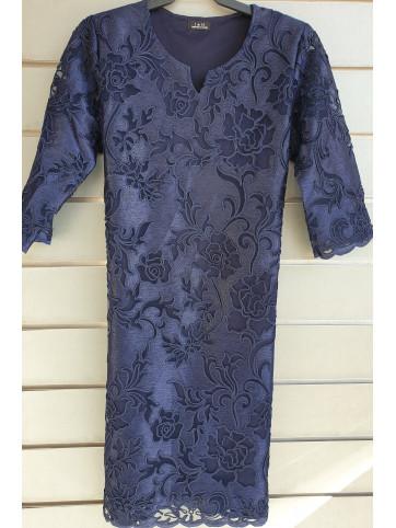 vestido blonda V-0523