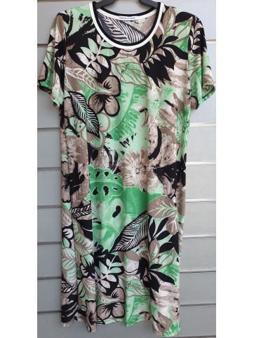 vestido doble cuello v9000
