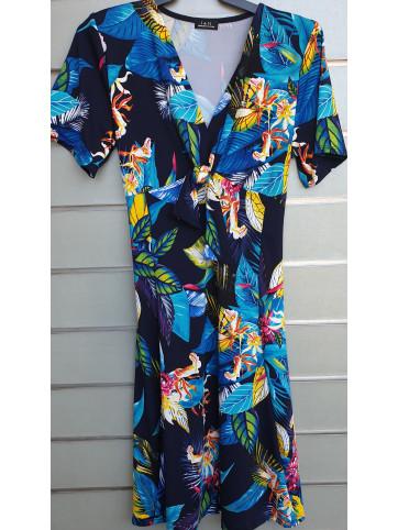 vestido lazo v0336