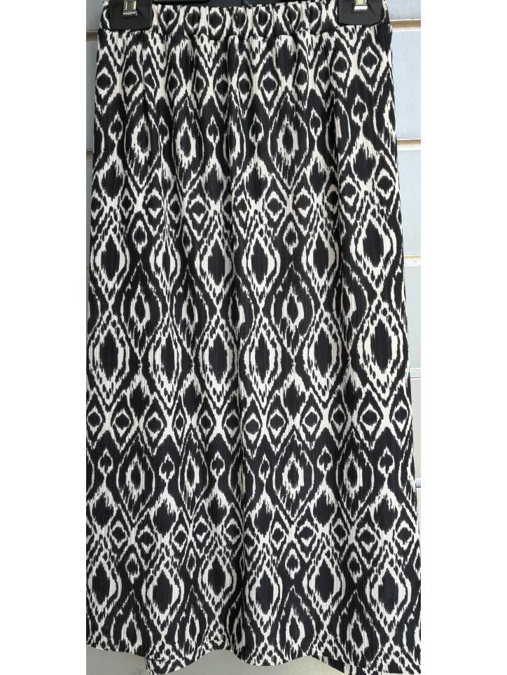 falda goma punto texturas