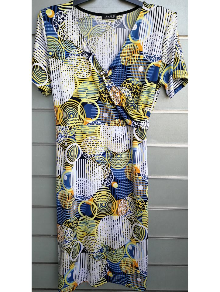 vestido cruzado V0750