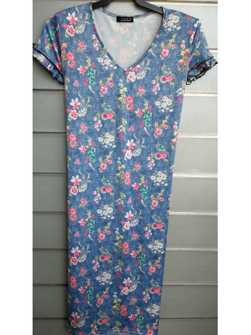 vestido pico doble manga 1